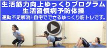 生活筋力向上ゆっくりプログラム 生活習慣病予防体操